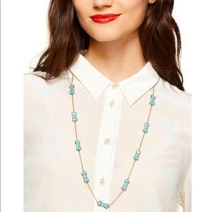 Kate Spade - Tiffany Blue Bow Necklace